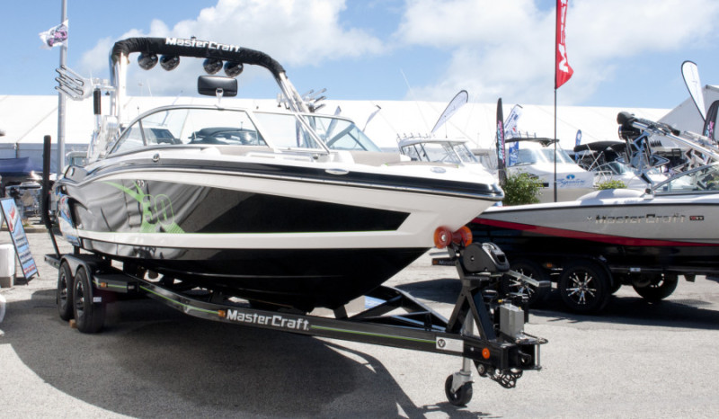 Master craft Boat Show