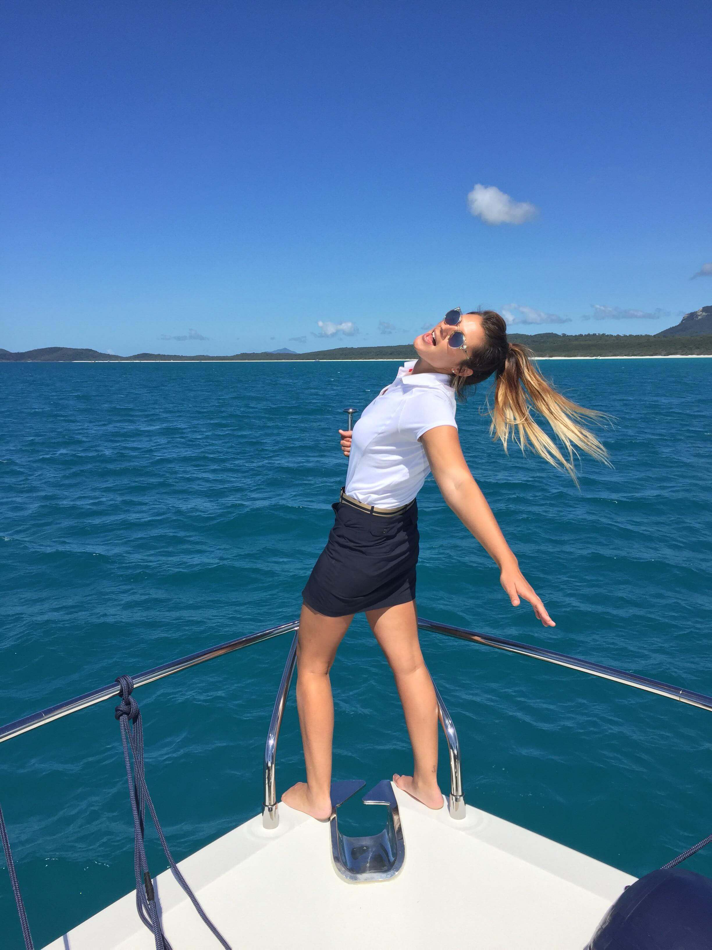 environmental scientist and yacht owner, Tahlia Walsh